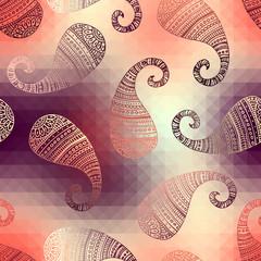 polygonal paisley