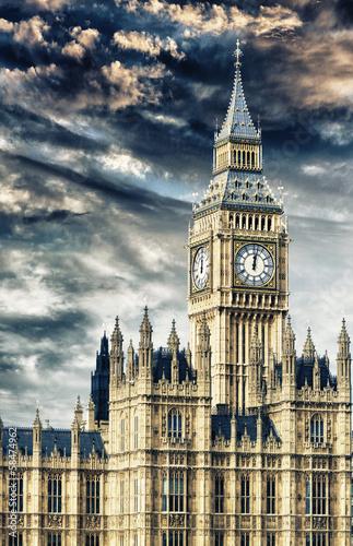Beautiful view of Big Ben in London
