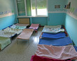 kindergarten dormitory with small children's beds
