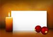 Weihnachtskarte, Hintergrund, Weihnachten, Kerze, 1. Advent