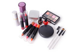 Make up set for woman face.