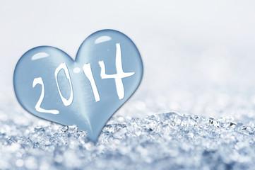 2014, coeur de glace