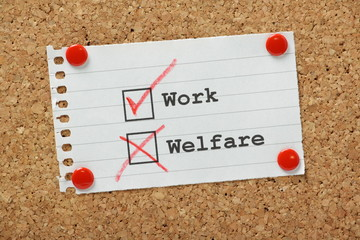 Work or Welfare Tick Boxes