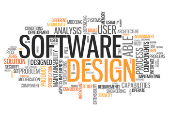 "Word Cloud ""Software Design"""
