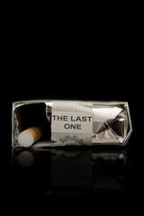 The last One Cigarette