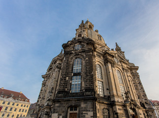 Frauenkirche in Dresden Germany