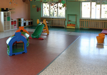 nursery with  games without children