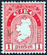 Map of Ireland (Ireland 1922)
