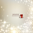 Elegant Christmas background with place for text. Vector Illustr
