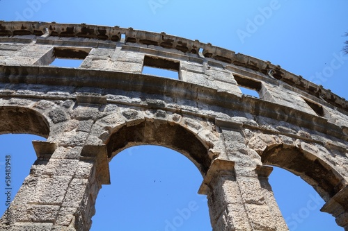 Pula arena in Croatia