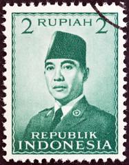 President Sukarno (Indonesia 1951)