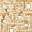 Coffee break, vector seamless pattern