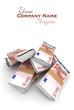 10 Euros stacks