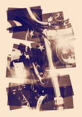 chopper collage