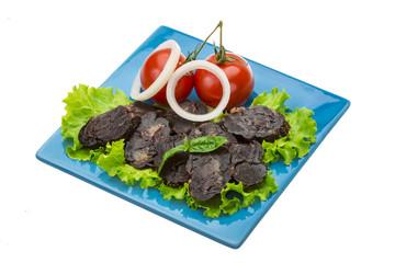 Horsemeat sausage