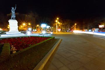 Chisinau in night