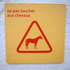 Panneau Cheval