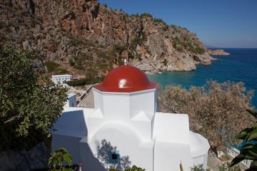 malerische Kapelle Kira Panagia, Karpathos