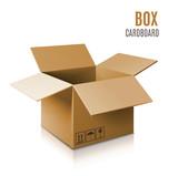 Fototapety Box cardboard
