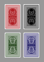 Custom Playing Card Designs/Skulls and Lions