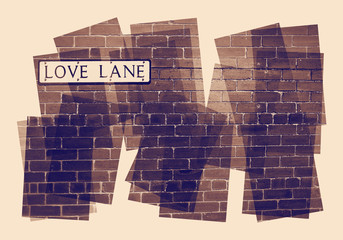 love lane collage