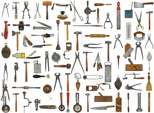 vintage tools and utensils