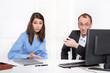 Probleme, Auseinandersetzung in der Arbeit: Mann und Frau