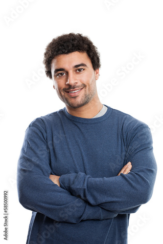 Handsome Middle Eastern Man portrait
