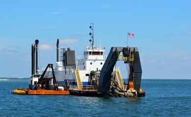 inlet dredging at Florida