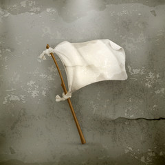 White flag old style