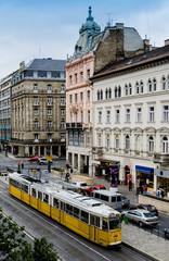 Budapest city tram