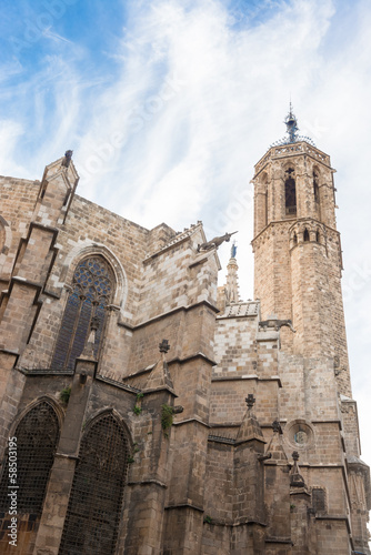 Barcelona: Gothic Cathedral of Santa Eulalia in Barri Gotic