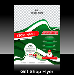 gift shop flyer Design