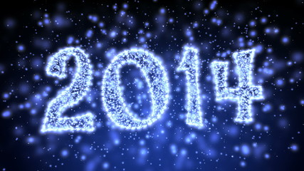 Sparkling New Year 2014 Title