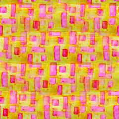 stripes ornament grunge texture, watercolor yellow, pink ornamen