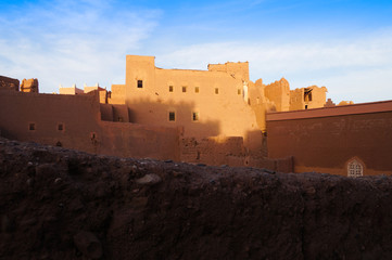 Taourirt Kasbah, Ouarzazate in Morocco