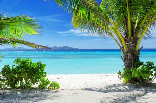Naklejka beach