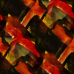 texture watercolor red, black abstract art seamless background v