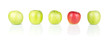 Red and Green Apples - 01