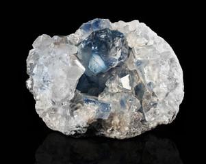 Druze mineral celestite