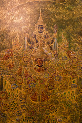Mural in thailand