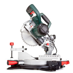 Miter saw isolated