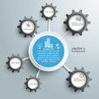 Infographic Industry Networks