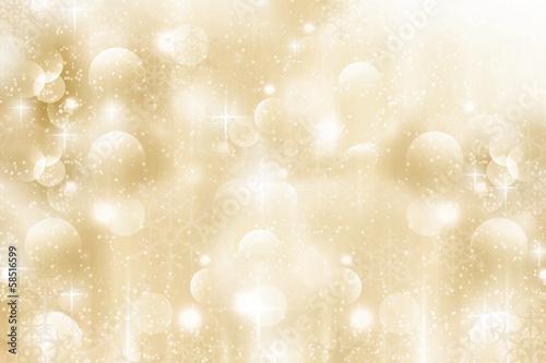 canvas print picture Hintergrund mit Lichtern und Glitzern
