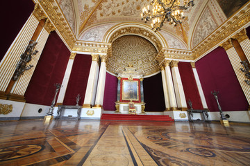 Small Throne Hall at the State Hermitage Museum