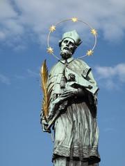 Prag Karlsbruecke Figur 1