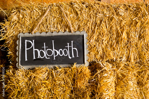 Photobooth Wedding Sign