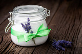Fototapety Natural lavender and coconut body butter DIY