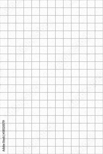 White tiles background