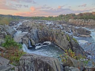 Les grandes chutes de la Potomac